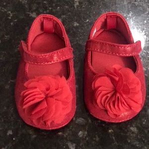 Other - Red baby girl shoes size 2